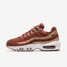 Womens Dusty Peach/Bio Beige/Summit White Nike Air Max 95 Lifestyle Shoes AA1103-201