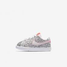 Nike Blazer Lifestyle Shoes For Girls White/Black/Bright Crimson AO1035-100