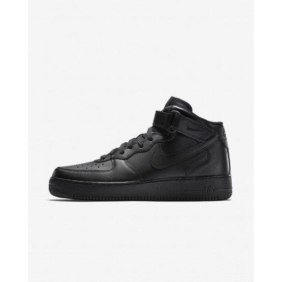 Mens Black Nike Air Force 1 Lifestyle Shoes 315123-001