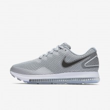 Womens Wolf Grey/Cool Grey/White/Black Nike Zoom All Out Running Shoes AJ0036-005