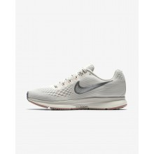 Womens Light Bone/Pale Grey/Sail/Chrome Nike Air Zoom Running Shoes 880560-004