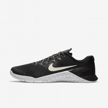 Mens Black/White Nike Metcon 4 Training Shoes AH7453-003