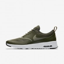 Nike Air Max Thea Lifestyle Shoes For Women Cargo Khaki/Black/Dark Stucco 599409-310