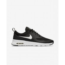 Womens Black/Summit White Nike Air Max Thea Lifestyle Shoes 599409-020