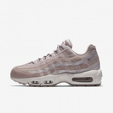Womens Particle Rose/Vast Grey/Summit White Nike Air Max 95 Lifestyle Shoes AA1103-600