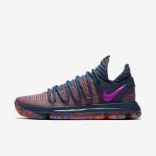 Nike Zoom KDX Basketball Shoes For Women Ocean Fog/Hyper Crimson/Fuchsia Blast 897817-400