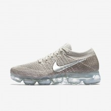 Womens String/Sunset Glow/Taupe Grey/Chrome Nike Air VaporMax Running Shoes 849557-202