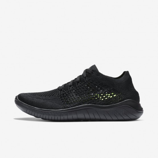 Womens Black/Anthracite Nike Free RN Running Shoes 942839-002