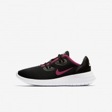 Nike Hakata Lifestyle Shoes For Girls Black/White/Rush Pink AO1244-002